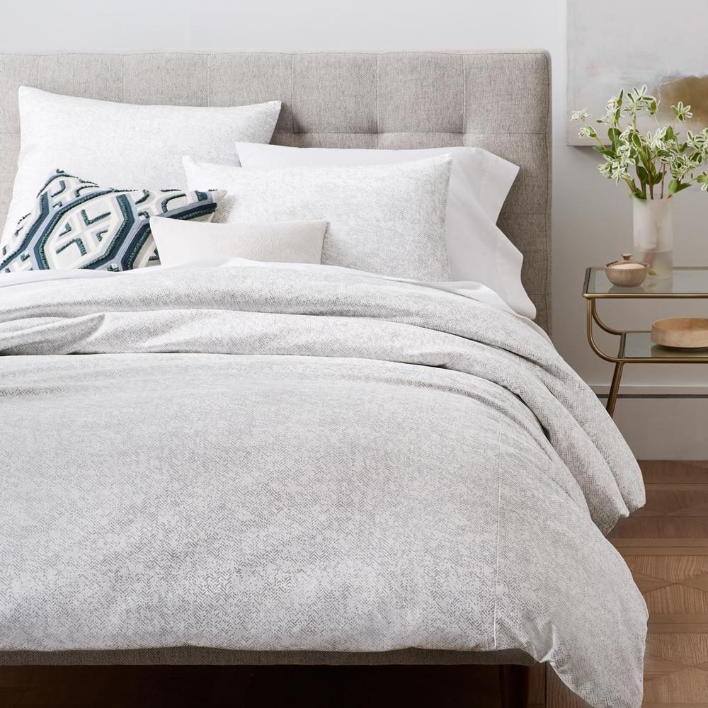 bed metallic cover gold full bedding vivaterra duvet shams set