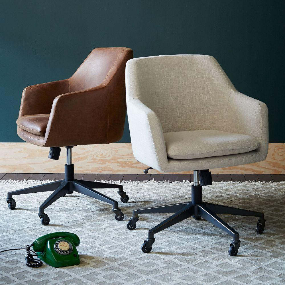 Helvetica Upholstered Office Chair