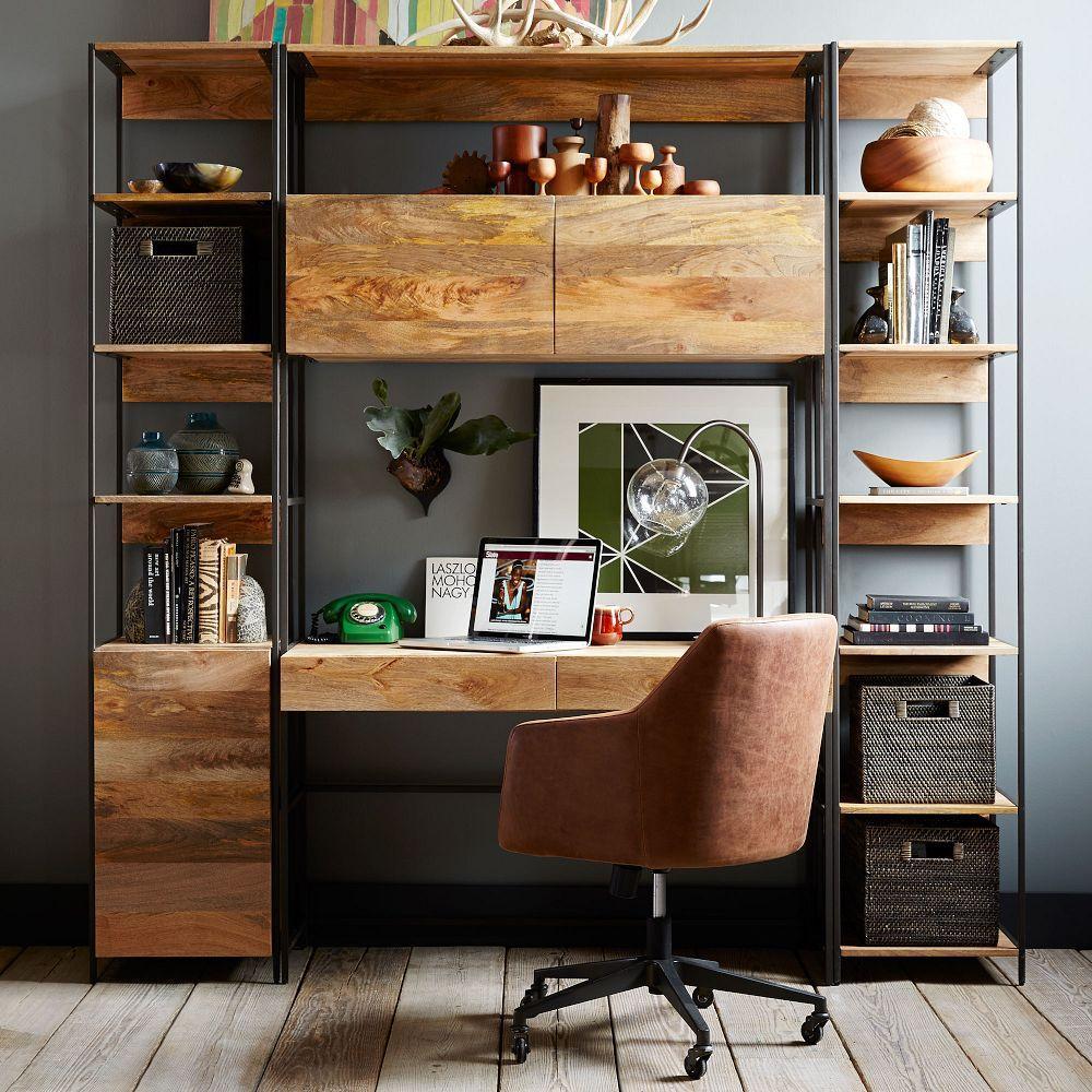 helvetica leather office chair west elm australia. Black Bedroom Furniture Sets. Home Design Ideas