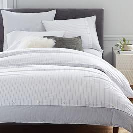 100 Organic Cotton Bed Linen West Elm Australia
