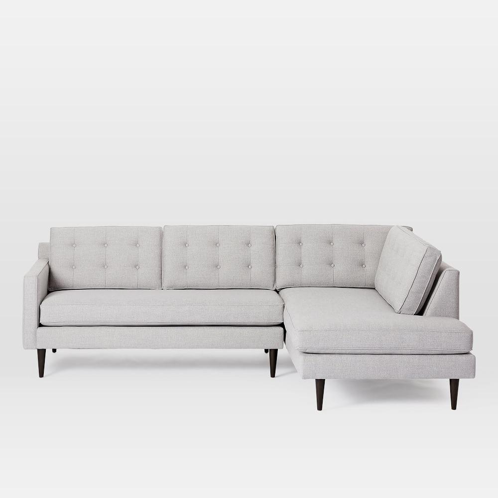 Drake 2-Piece Terminal Chaise Sectional