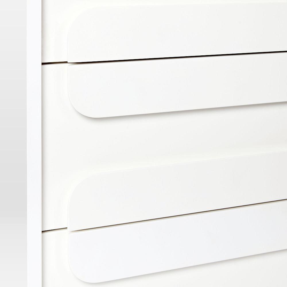 Gemini 3-Drawer Dresser - White Lacquer