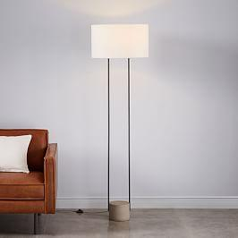 West Elm Duet Floor Lamp