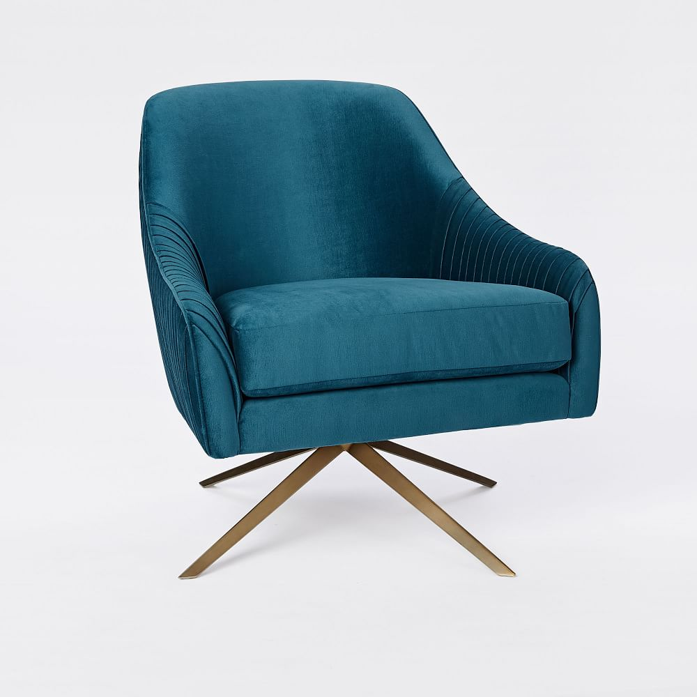 Roar + Rabbit™ Swivel Chair - Celestial Blue
