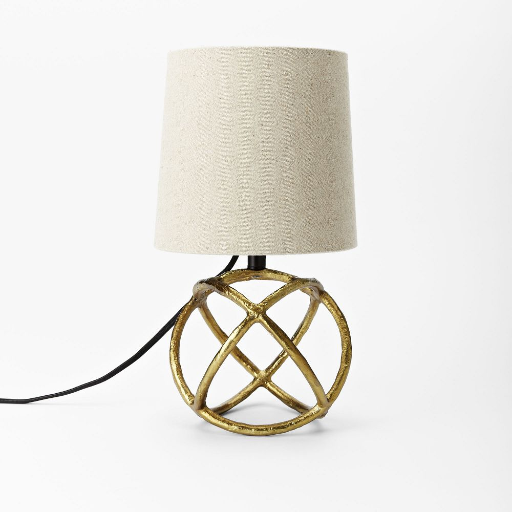 Mini Geodesic Table Lamp West Elm Au
