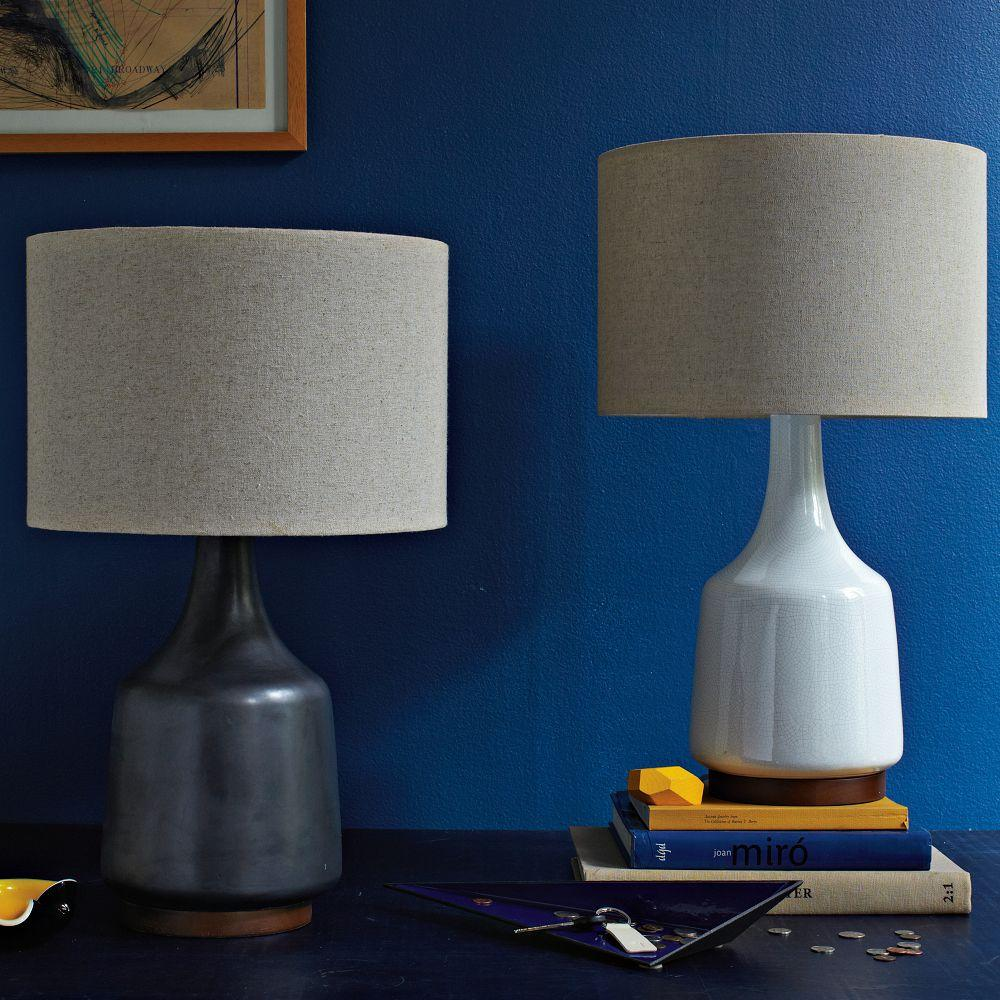 Morten Table Lamp Black West Elm Australia