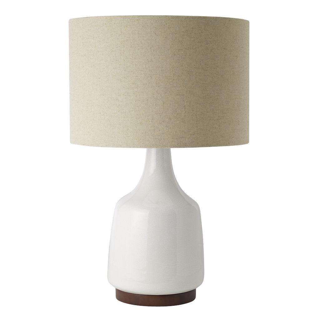 Morten Table Lamp - White - Morten Table Lamp - White West Elm AU