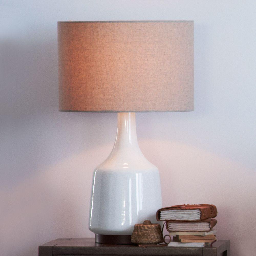 Morten table lamp white west elm australia morten table lamp white aloadofball Images