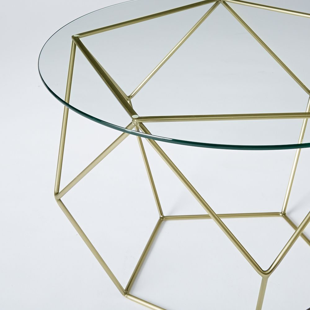 West Elm Origami Coffee Table Psychologyarticlesinfo - West elm geometric coffee table