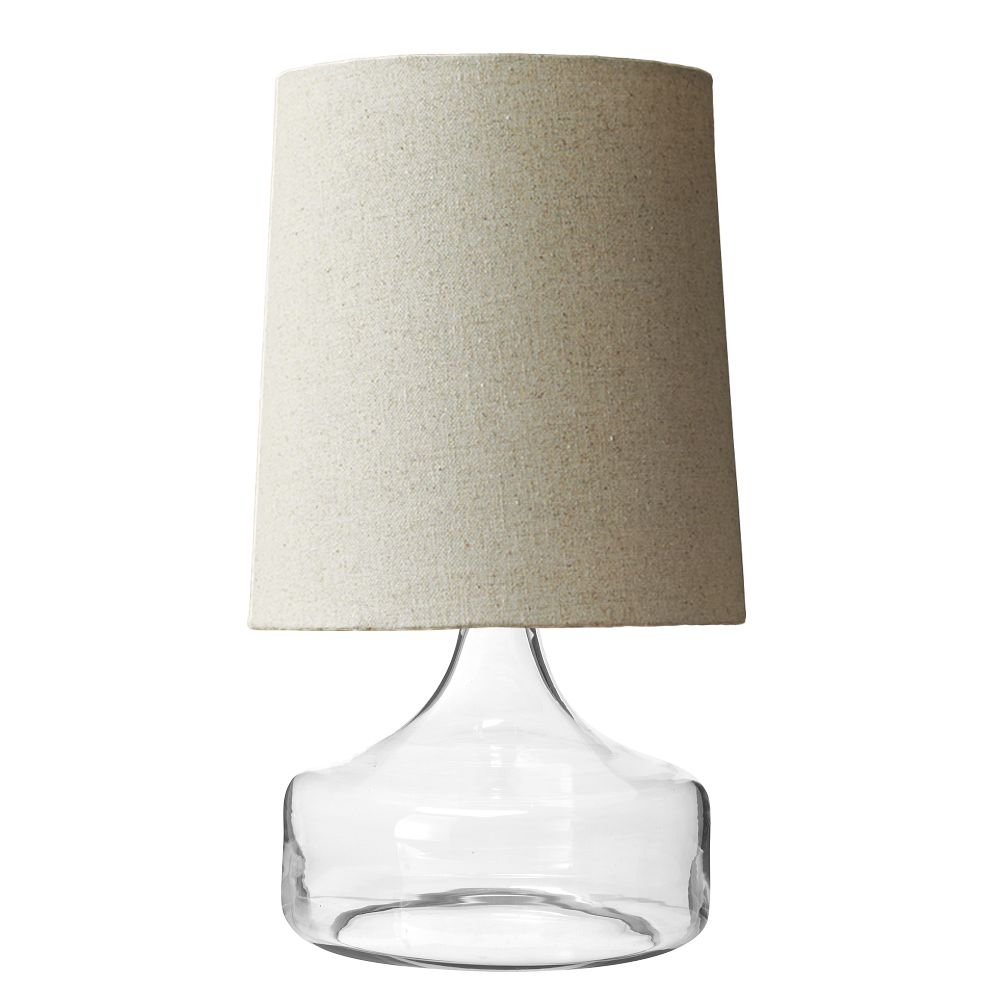 Perch Table Lamp Clear West Elm Au