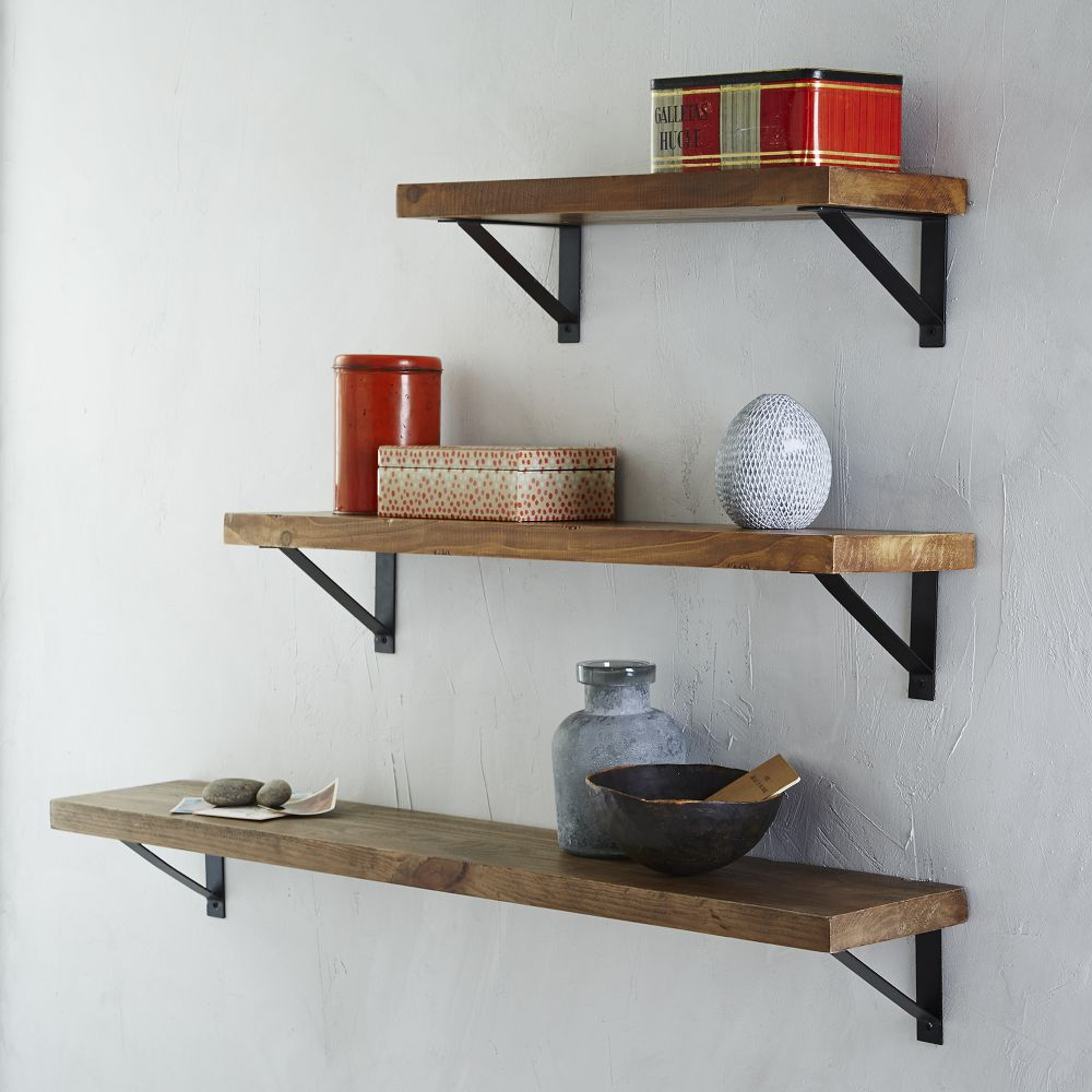 decor cushions home office reclaimed wood shelf basic brackets