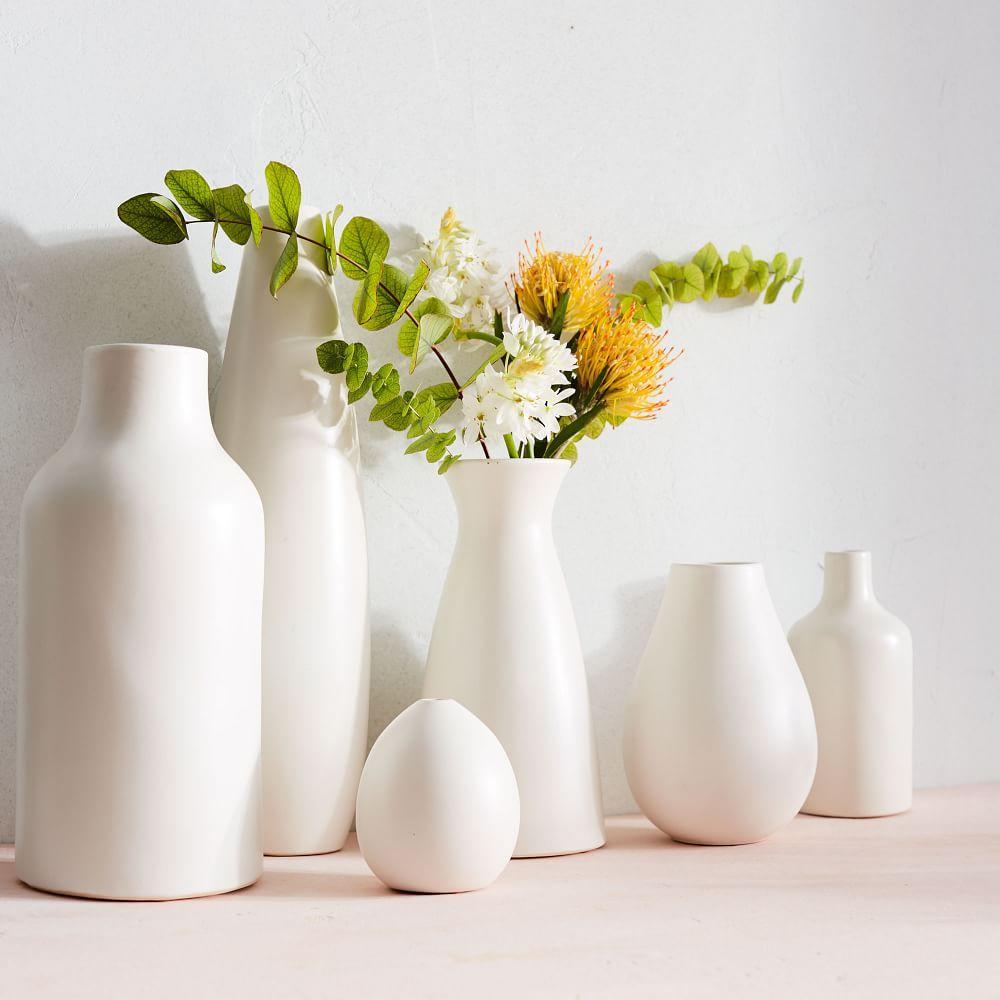 Pure white ceramic vases west elm au pure white ceramic vases pure white ceramic vases reviewsmspy