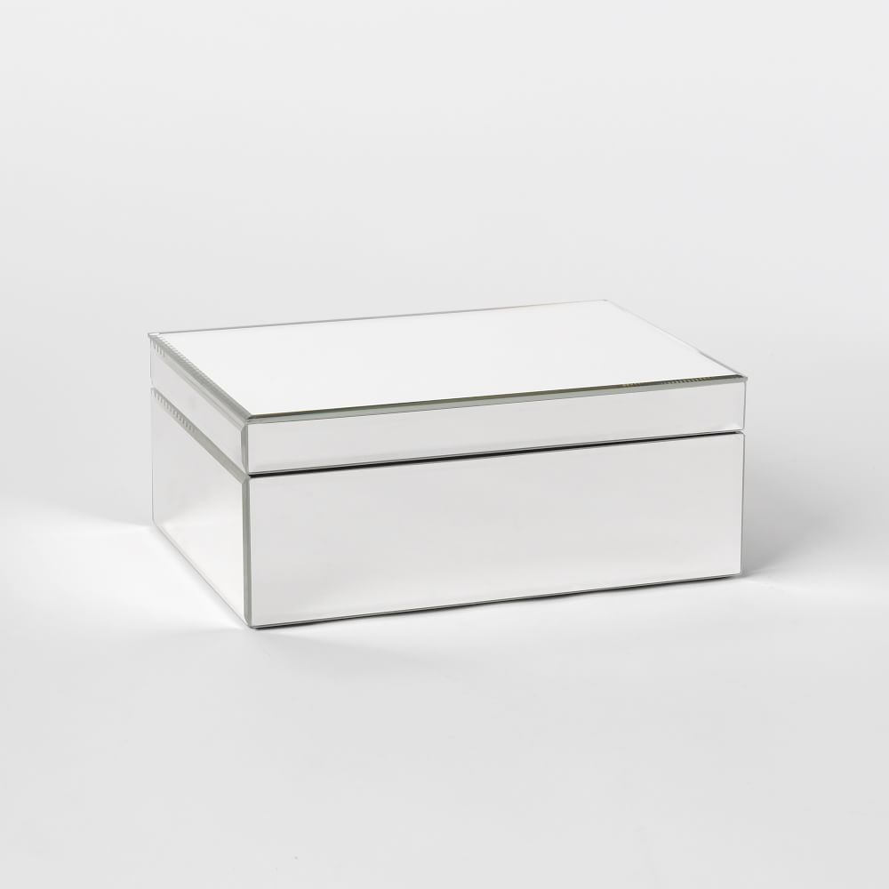 ... + Accessories / Jewellery + Display Boxes / Mirrored Jewellery Box