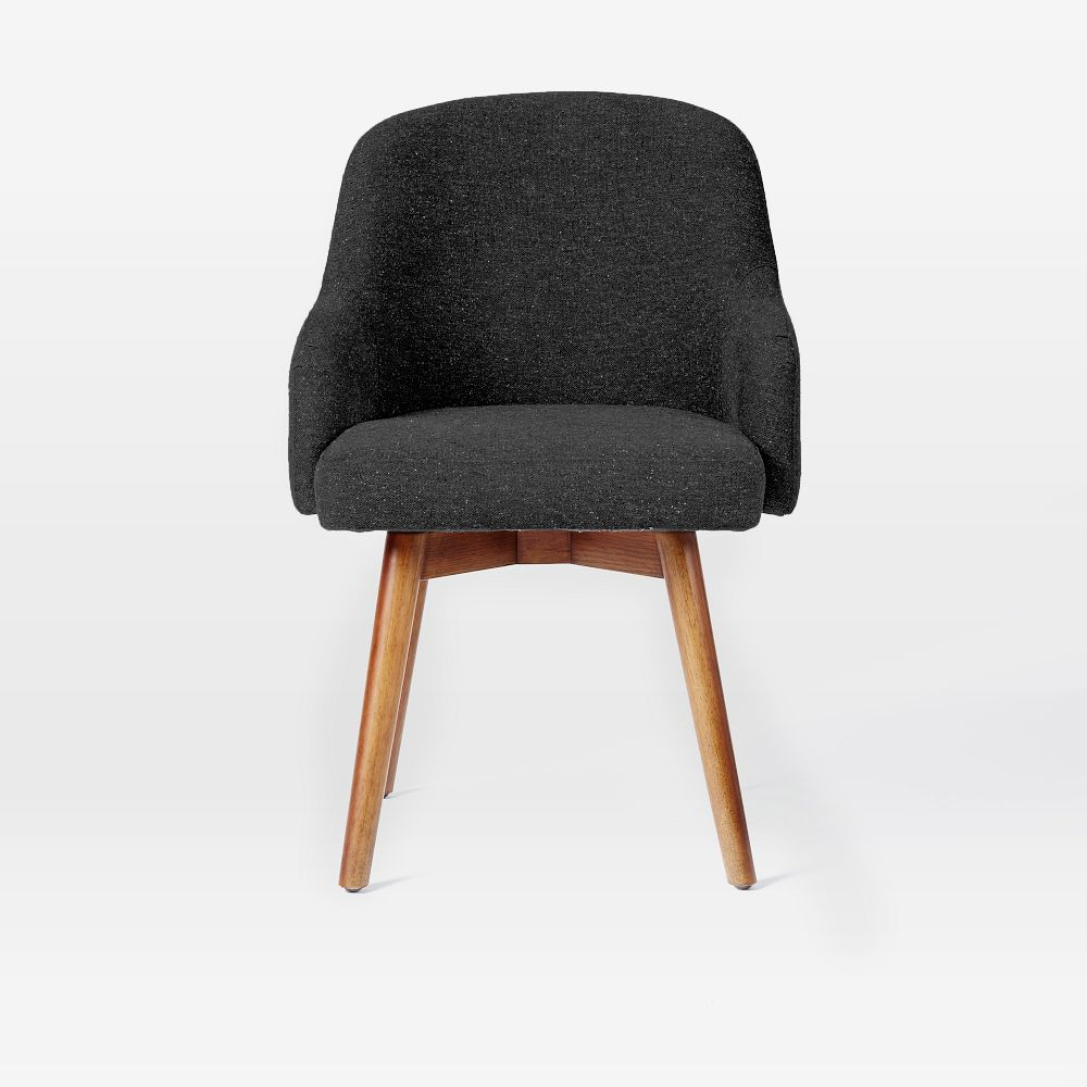 Saddle office chair asphalt west elm au for Office furniture chairs