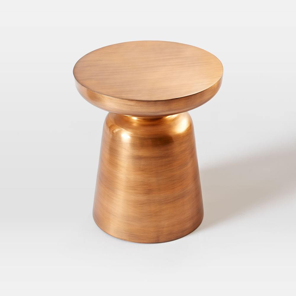home martini side table copper
