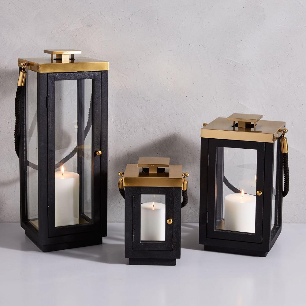 Wood + Rope Lanterns
