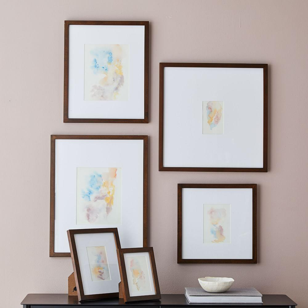 Gallery Frames - Dark Walnut | west elm Australia
