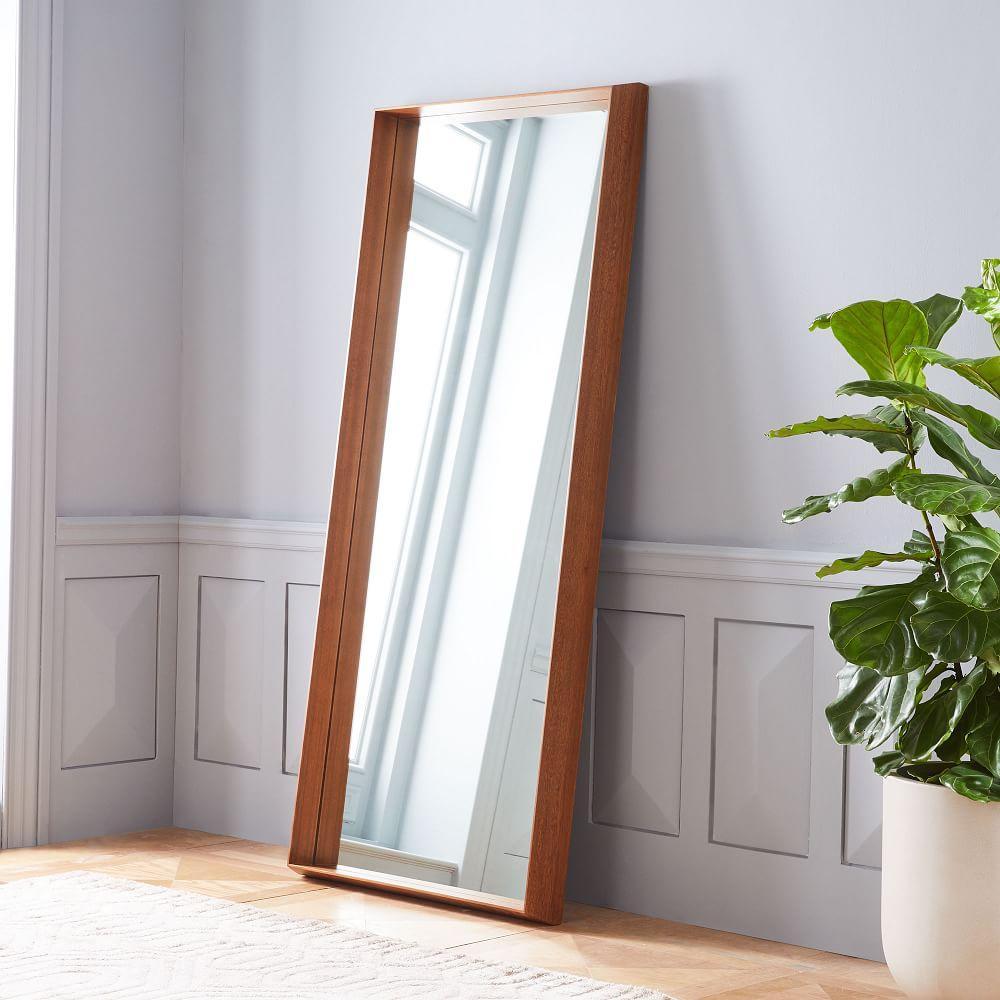 Wood Frame Ledge Floor Mirror | west elm Australia