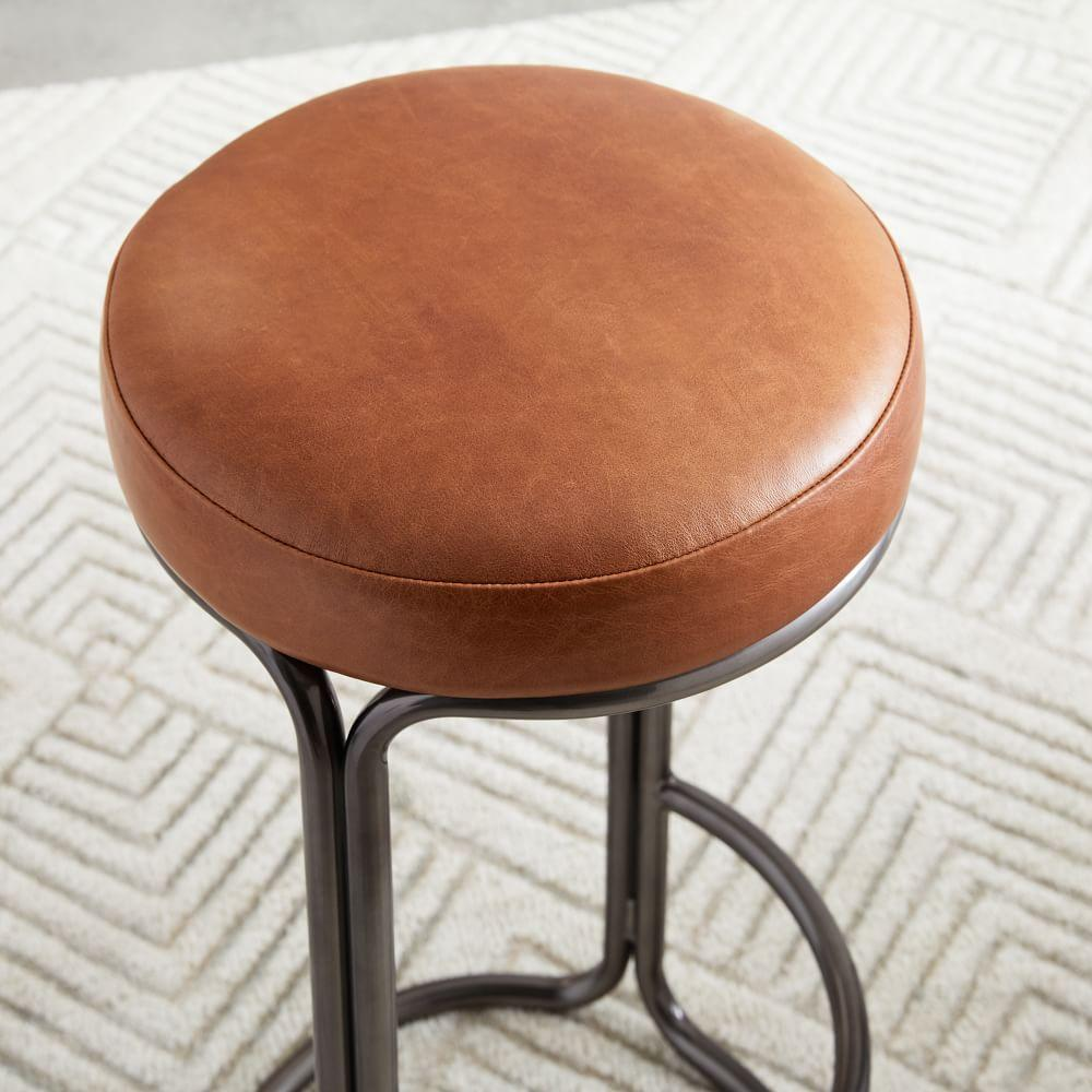 Cora Leather Counter Stool