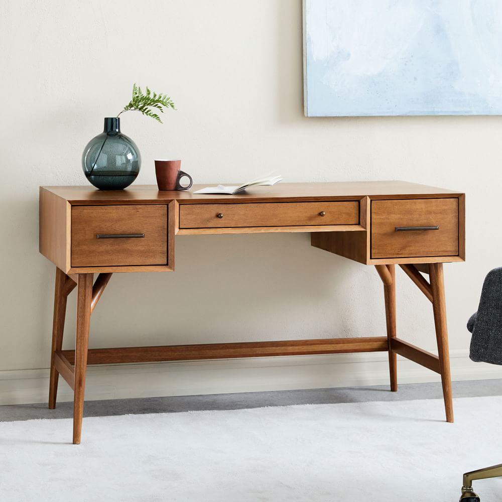 Furniture Mid Century Modern: Mid-Century Desk - Acorn