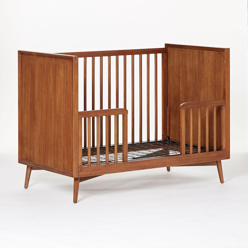 Mid-Century Toddler Bed Conversion Kit - Acorn