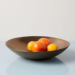 Reactive Glaze Large Serve Bowl