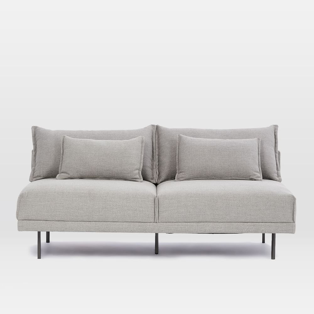 armless the best couches reviews park couch for furniture sofa small tufted sofas widely intended used rosdorf pratt