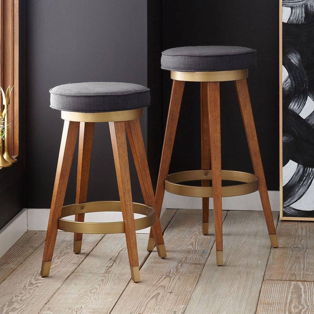 Fabulous Mid Century Swivel Bar Counter Stool Cjindustries Chair Design For Home Cjindustriesco