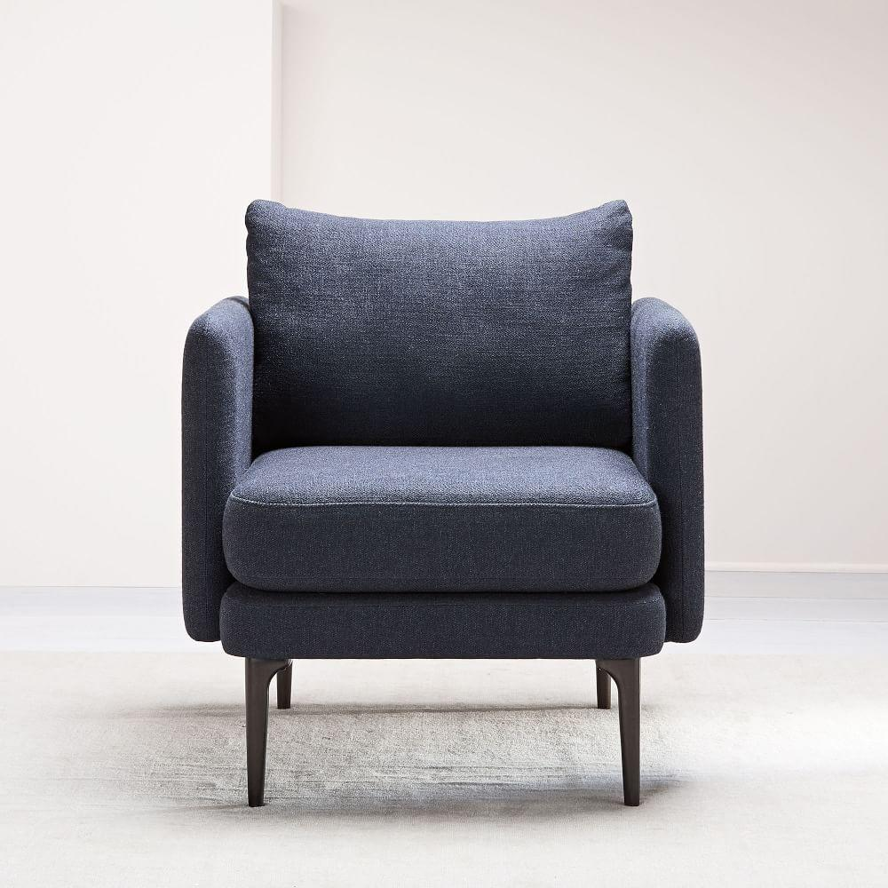 Auburn Chair - Black Indigo (Twill)
