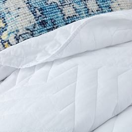 Organic Deco Coverlet + Pillowcases - White