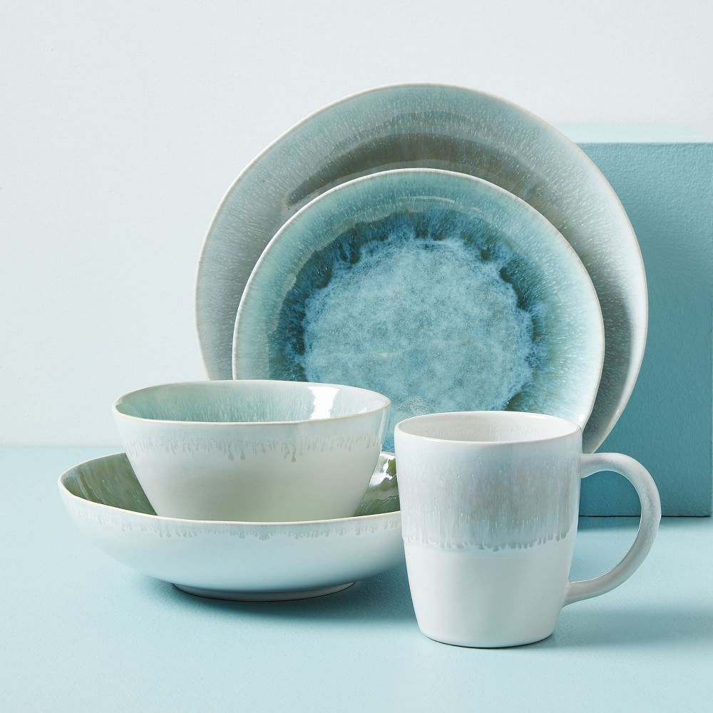 Reactive Glaze Dinnerware Dusty Mint West Elm Australia