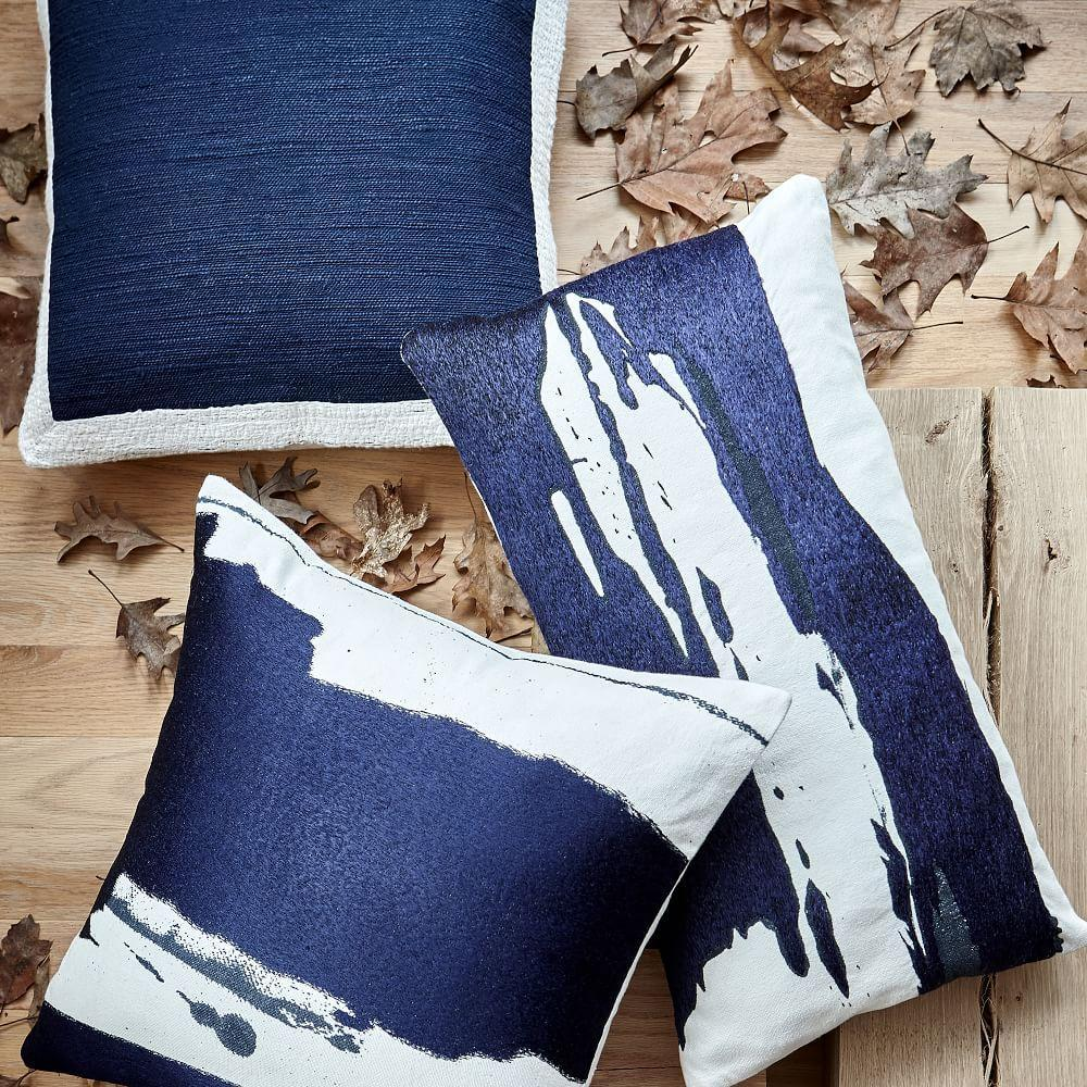 Ink Wash Cushion Covers