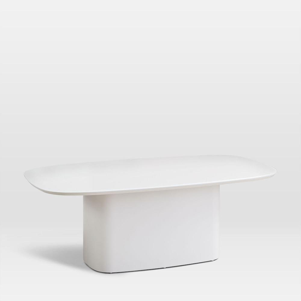 Superellipse Coffee Table - Salt