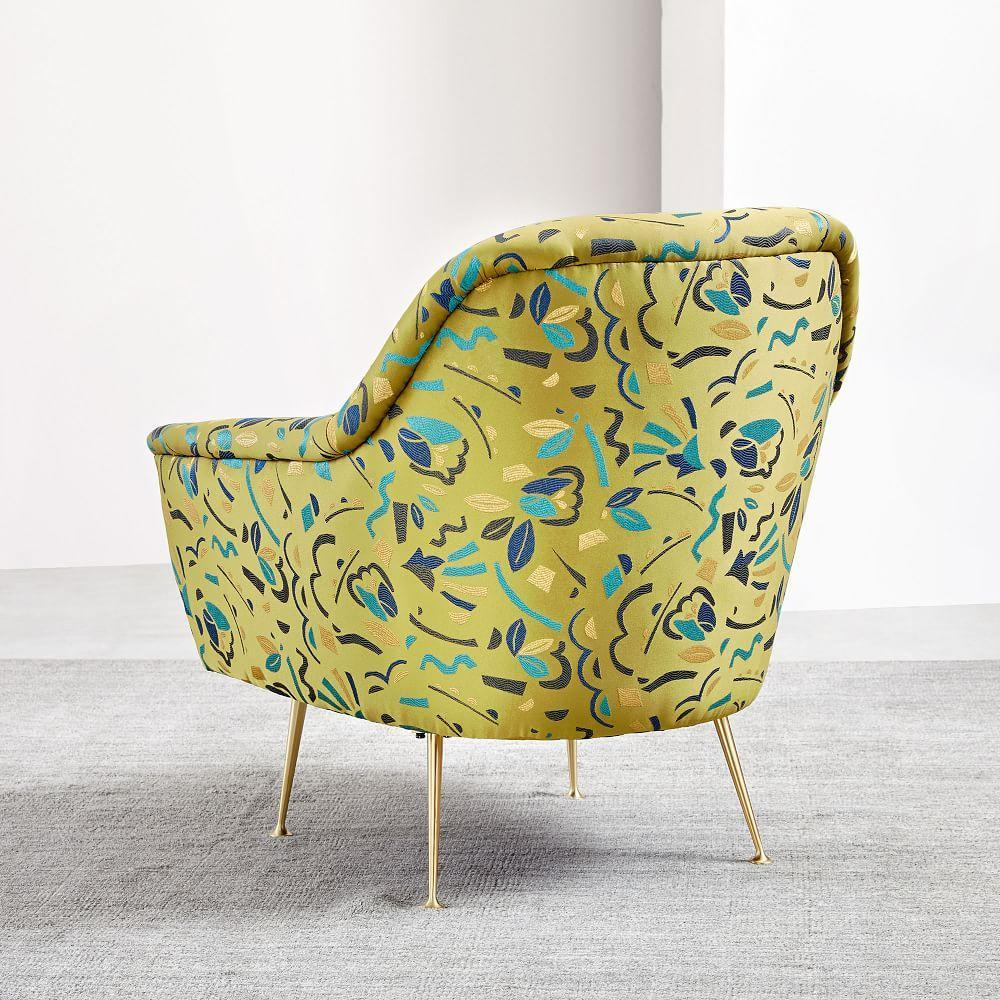 Phoebe Chair - Pop Art Jacquard