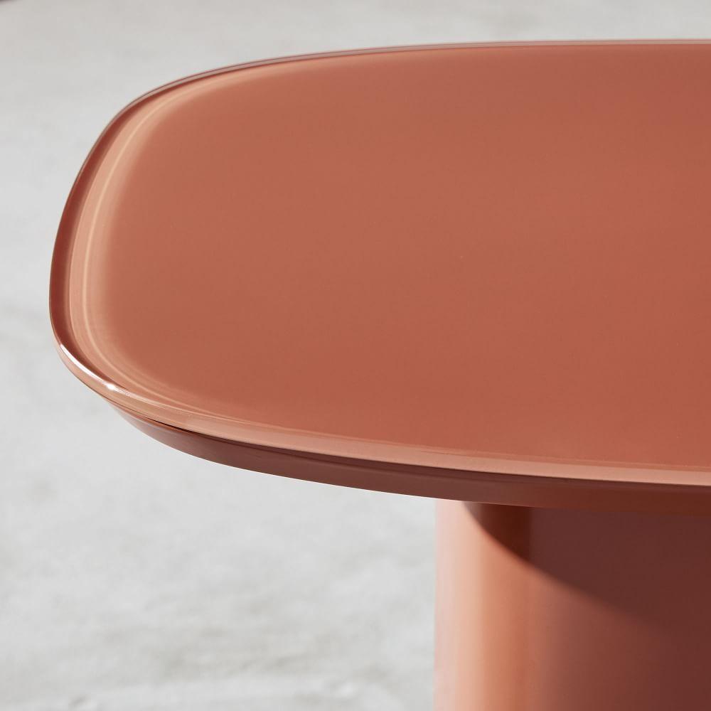 Superellipse Side Table - Copper