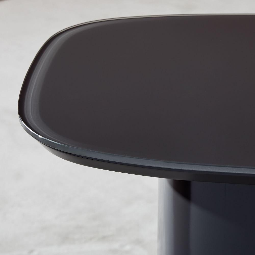Superellipse Side Table - Anthracite