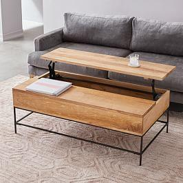 Industrial Storage Coffee Table - Large (127 cm)