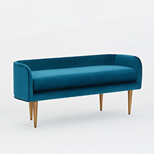 Celine Bench - Blue