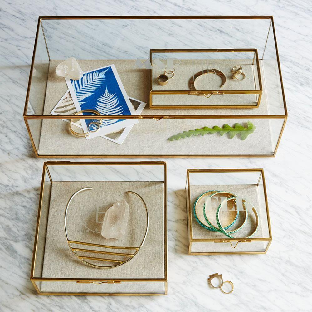 Terrace Glass Shadow Boxes
