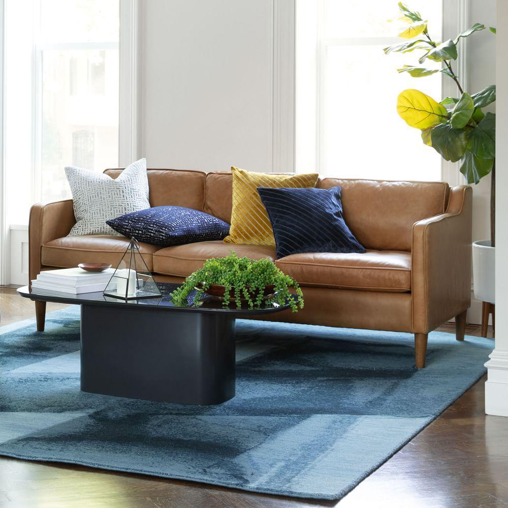 Hamilton Leather Sofa (206 cm)