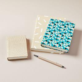 Printed Pattern Notebooks