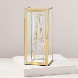 Terrace Shadow Box - Brass (Jewellery Box)