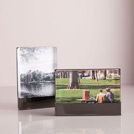 Acrylic + Metal Frames - Black Nickel