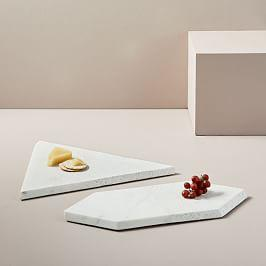 Edge Marble + Terazzo Marble Serving Boards