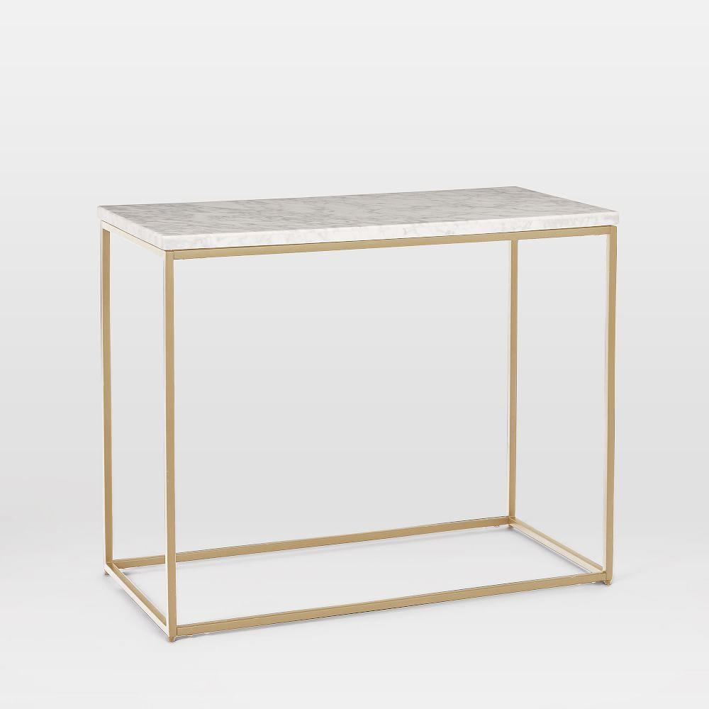 official photos 7e47f a1120 Streamline Side Table - Marble | west elm Australia