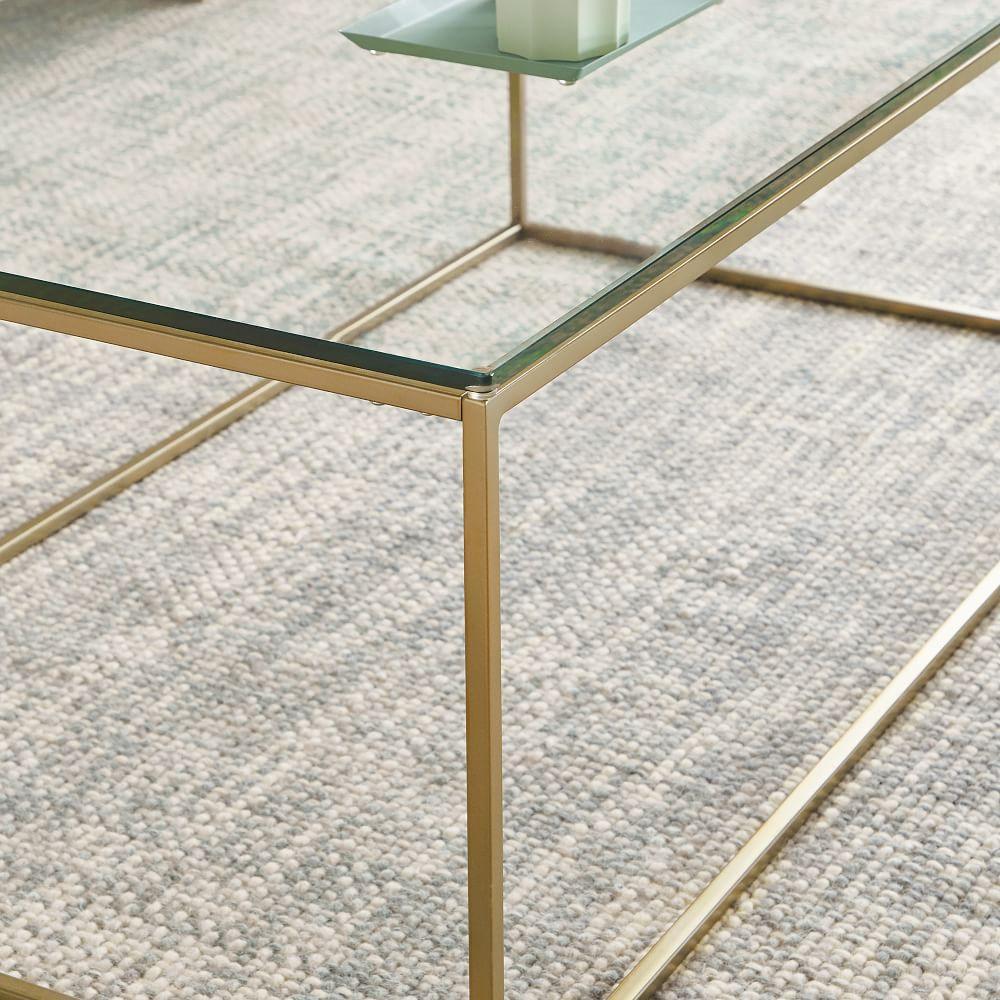 Streamline Coffee Table - Glass