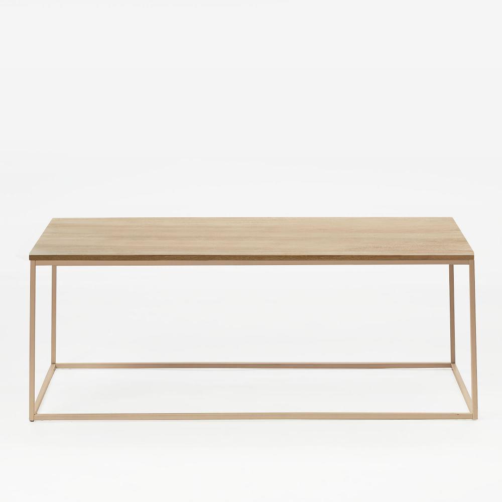 Streamline Coffee Table - Whitewashed Mango Wood