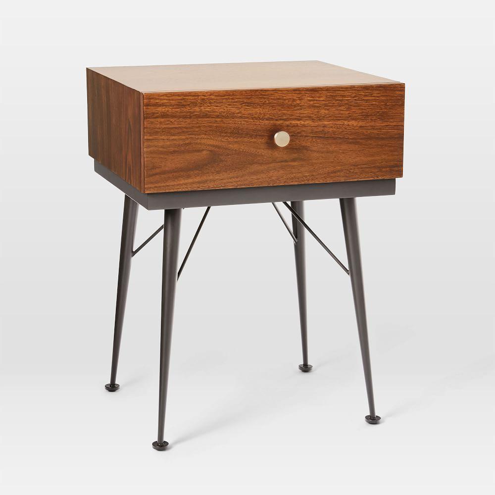 Paulson Mid-Century Bedside Table