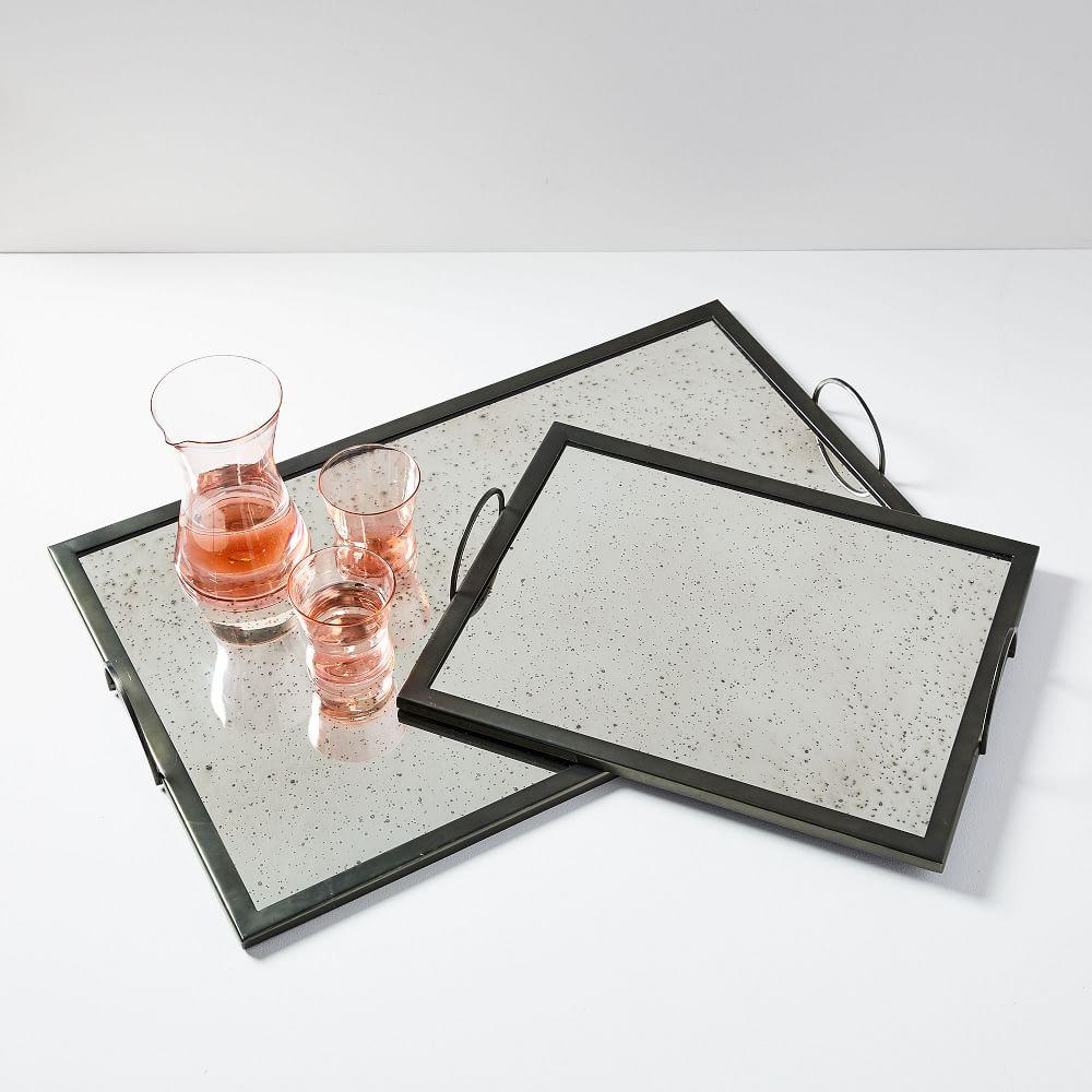 Foxed Mirror Trays