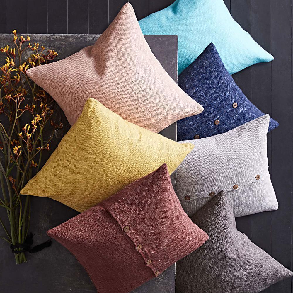 Silk Hand-Loomed Cushion Covers